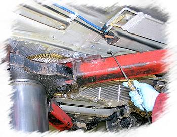 SUVO rustbeskyttelse og undervognsbehandling af en VW